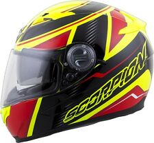 Scorpion EXO-500 Corsica - NEW 2016 Full-Face Street Helmet - Red/Neon