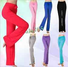 Slim fit Women's Trousers Long Pants Fitness Casual Sport Dance Yoga Pants