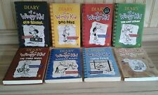 Diary Of A Wimpy Kid Set Of 7 great Childrens story books
