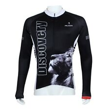 Cycling Lion Discovery Clothing Bicycle Long Sleeve Jersey Top Bike Sportwear