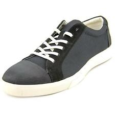 Calvin Klein Igor Men  Round Toe Canvas Black Sneakers
