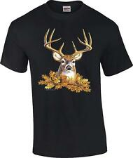 Buck Head Deer Face Rack Hunting Hunter T-Shirt