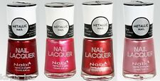 Sexy Hot New Nabi Metallic Nail Lacquer Diva Art Polish Choose One Free Shipping