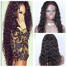 Hot 100% remy human hair curly full wigs lace/full lace front wig lace wigs+Gift