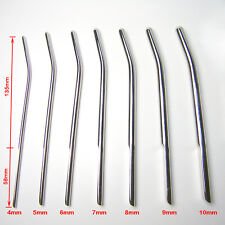 New Stainless Steel Penis Stretcher Urethral Sounding Dilater Stretching sets649