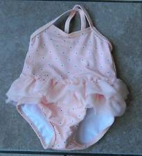 Swimsuit Gymboree,one piece swimsuit,tulle trimmed,sz.0,3,6 M.,NWT