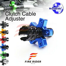 FRW 6Color CNC Clutch Cable Adjuster For Kawasaki BN 125 Eliminator 01-11 04 05