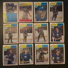 1983-84 OPC BUFFALO SABRES Select from LIST NHL HOCKEY CARDS O-PEE-CHEE