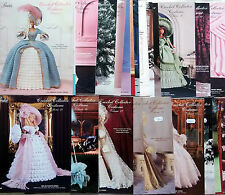 * Paradise Fashion Doll Barbie Crochet Collector Costume Patterns YOU CHOOSE