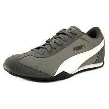 Puma 76 Runner Fun Mesh Wns Women  Round Toe Canvas Gray Sneakers