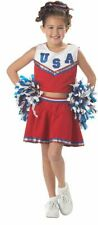 California Costumes Patriotic Cheerleader Child Girls Halloween Costume 00411