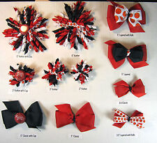 Chicago Bulls Themed Hair Bows Korkers Classic Bottle Caps U-Pick