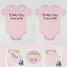 Baby Infant Boys Girls' Funny Words Patterned Romper Outfits Cotton Jumpsuit NEW