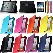 1st Generation Slim PU Leather Magnetic Folio Case Cover Stand For Apple iPad 1