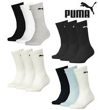 3 Pairs of Puma Childrens Kids Crew Sports Socks