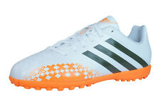 adidas Predito LZ TRX TF J Boys Football Trainers / Boots - White Orange  F32586