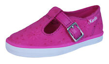 Keds T Strappy Girls Trainers / Shoes - Pink - KT52660