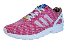 adidas Originals ZX Flux Weave Womens Trainers / Shoes - Red - M21366