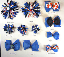 Dallas Mavericks Themed Hair Bows Korkers Classic Bottle Caps U-Pick
