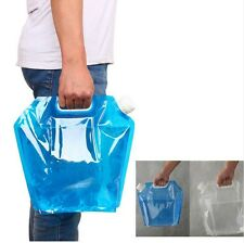 5L/10L  BBQ  Folding Drinking Water Container Storage Lifting Bag Camping Picnic