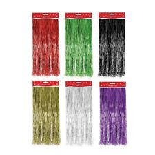 Christmas Xmas Decoration Angel Hair Tinsel Lametta White Red Silver Gold