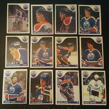 1985-86 OPC EDMONTON OILERS Select from LIST NHL HOCKEY CARDS O-PEE-CHEE