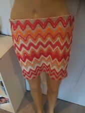 NEW WITH TAGS LUCY  LOVE BEACH CROCHET MINI SKIRT- SIZE MEDIUM- RETAIL $32