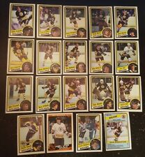 1984-85 OPC BOSTON BRUINS Select from LIST NHL HOCKEY CARDS O-PEE-CHEE