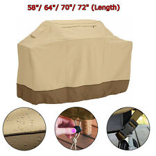 "58""64""70""72"" Heavy Duty Waterproof BBQ Barbeque Grill Cover Protect Outdoor Use"