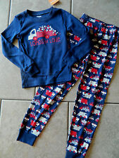 Size 8 years Gymmies Gymboree,NWT pajamas,2 pc.set,Loads of Love,truck,ONE LEFT