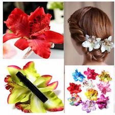 Thai Orchid Hairpin Side Clip Bridal Wedding Hawaii Party Seaside Flower Decor