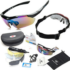New Polarized Cycling Bike Glasses Sports Bicycle Sunglasses UV Goggles Eyewear