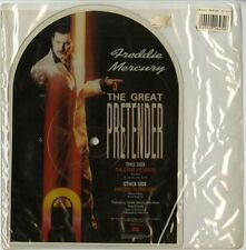 QUEEN - FREDDIE MERCURY : SINGLE - THE GREAT PRETENDER - SHAPED PICTURE DISC