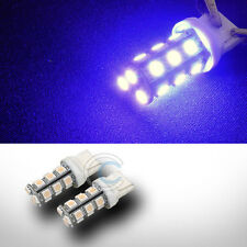 2X VIOLET/PURPLE 7440 18 COUNT SMD LED LIGHT BULB CAR REAR TURN SIGNAL LAMPS CB