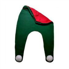 Red and Green Christmas Elf Baby Pants Tights - 3 Preemie and Newborn Sizes