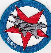 Splendid MIG 29 patch - FULCRUM