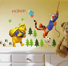 Lot Winnie The Pooh Removable Wall Stickers Decals Kids Nursery Decor Art Mural