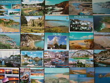 100 Used Postcards of CORNWALL. Mainly 1980's onwards.