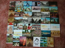 41 Unused Postcards of/from DENMARK.  Good condition.