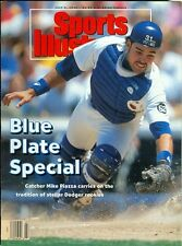 1993 Sports Illustrated: Mike Piazza Dodger Rookie/No Mail Label