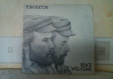 TOM PAXTON~PEACE WILL COME~GF COVER VG~LP VG