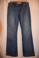 GAP - size 2 - Long & Lean - medium wash denim FLARE Stretch Jeans