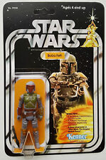 KENNER 1979 VINTAGE BOBA FETT ACTION  FIGURE ON  STAR WARS NEW HOPE 21 BACK