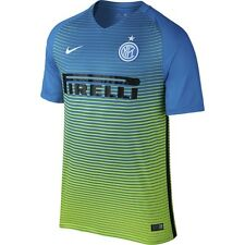 Nike Inter Milan Season 2015-2016 Third Soccer Jersey Brand New Royal / Green