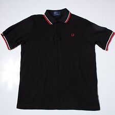 FRED PERRY POLO Shirt Short Sleeved - Size XL