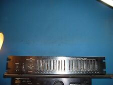 Nikko graphic Equalizer E Q 1 rack mount audio quality EQ VGC  PICTURES of back