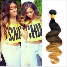 100% Brazilian 100% Virgin Ombre Remy Body Wave Human Hair Weft Extension 50g