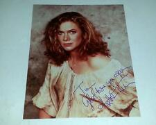 Kathleen Turner Signed Romancing the Stone 8x10 Color Photo circa 1980's