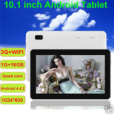 "New 10.1"" inch Android 4.4 Quad-Core 16GB Tablet PC Dual Camera WIFI Bluetooth"