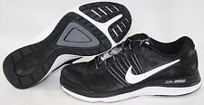 NEW Boys Kids Youth NIKE Dual Fusion X 716892 001 Black White Sneakers Shoes